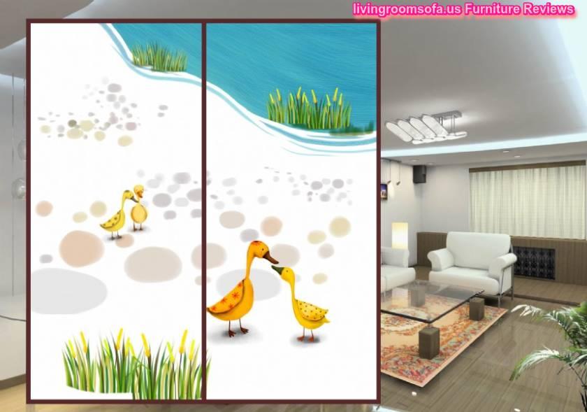 The duck window film wardrobe stickers sliding for Duck slide plans