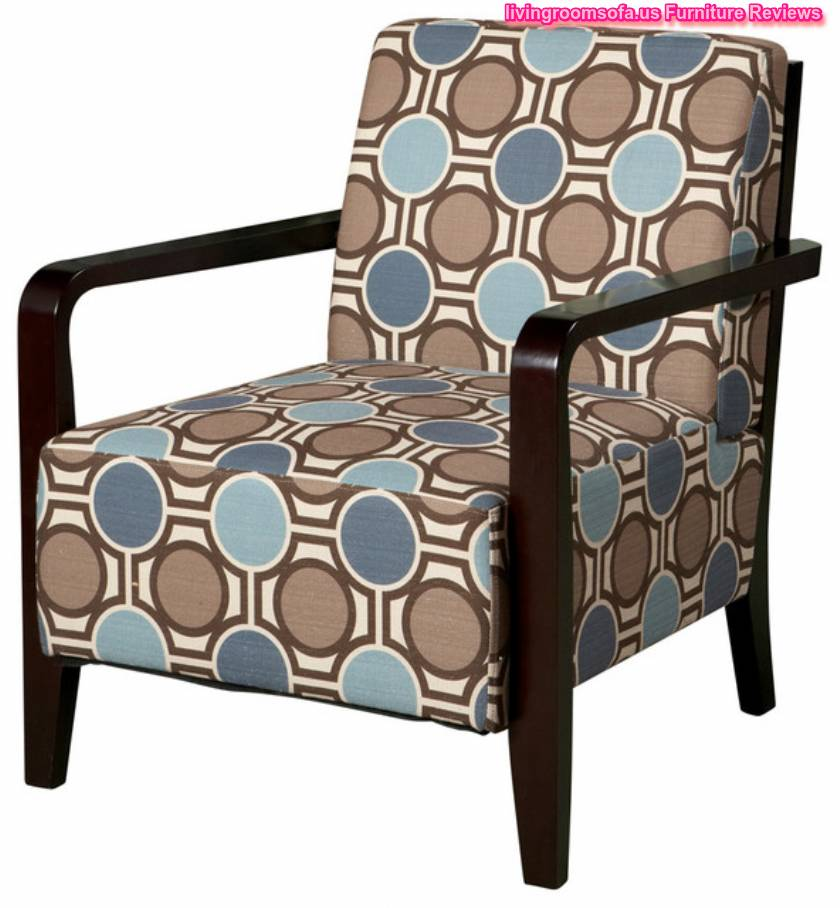 Traditional Accent Chairs With Wooden Arms