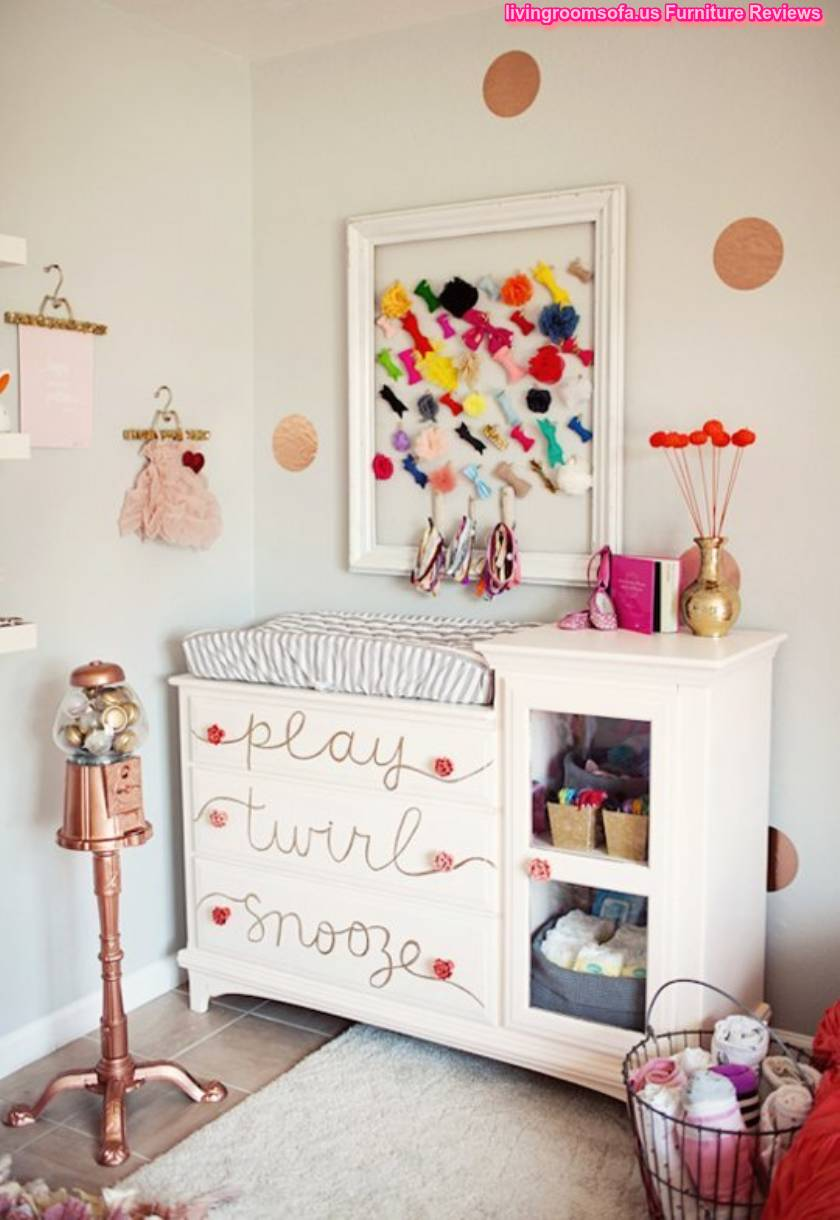 White And Cool Diy Your Kids Room Dresser Decor Ideas