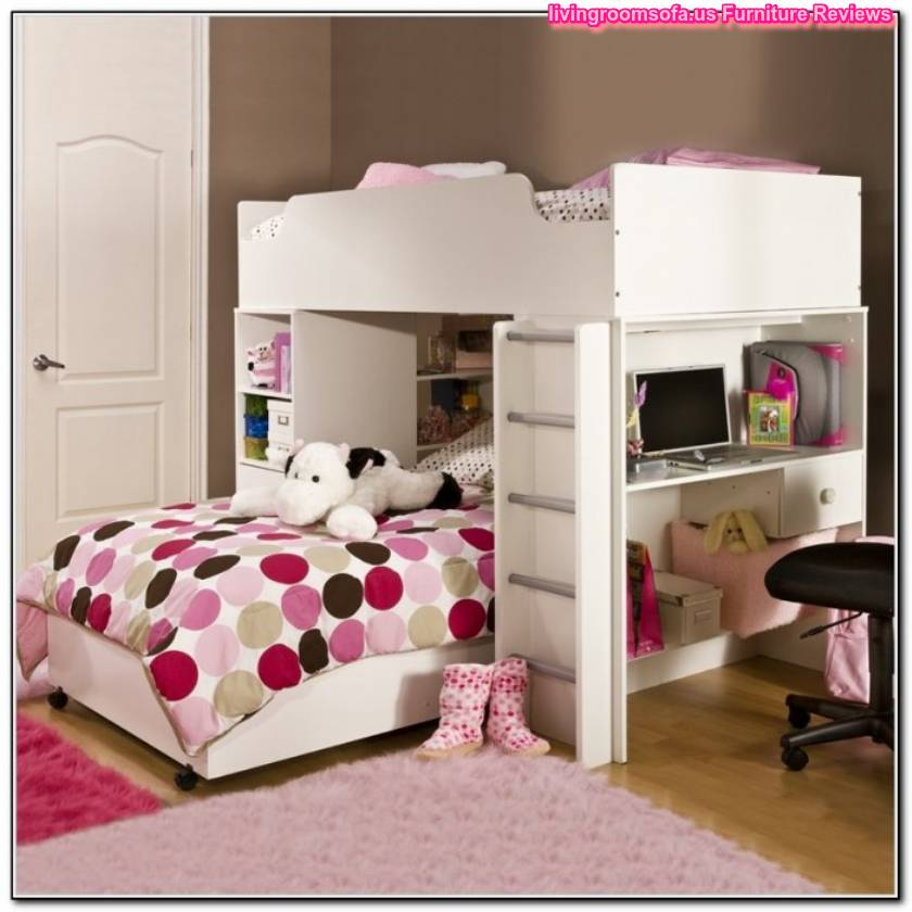Cool twin beds for girls modern and colorful twin beds for Bunk beds for girls