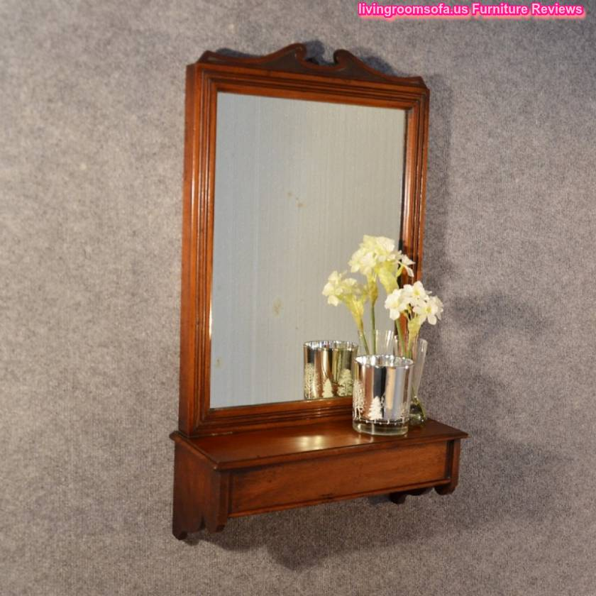 Wooden Antique Wall Mirror Furniture Design