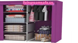 14 Metal Folding And Pink Cheap Style Wardrobe Armoires Designs