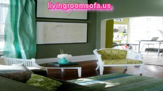 Accent Pieces For Green Living Room Color Sheme