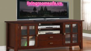 Accent Pieces Tv Stand For Living Room