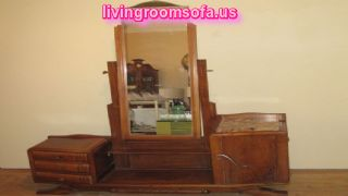 Amazing Antique Vanity Mirror Furniture