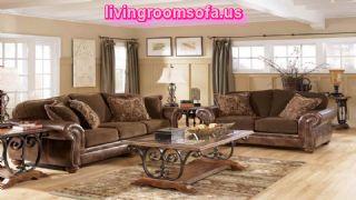 Ashley Furniture Axiom Leather Living Room Set