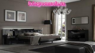 Amazing Black Bedroom Modern Design Ideas