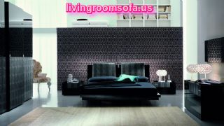 Amazing Black Modern Bedroom Furniture Design
