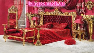 Amazing Lady In Red Classic Bedroom Furniture Design