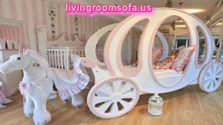 Amazing Baby Girls Room Cinderella Horse Drawn Carriage Beds