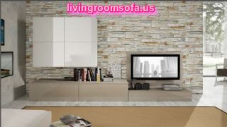 Amazing White And Contemporary Modern Tv Stands In Livingroom