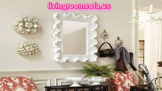Antique Beach Style Wall Mirror