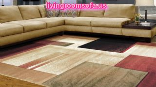 Area Rugs Design For Living Room