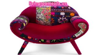 Awesome Smiley Patchwork Chair Design Ideas