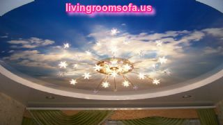 Awesome Sky Landscape Ceiling Lights For Living Room