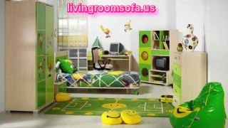 Beautiful Green Bedroom Furniture For Kids