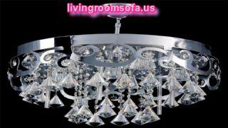 Big Round Diamond Living Room Lamps