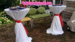 Bistro Banquet Cocktail Tables Designs