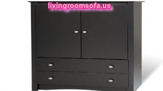 Black Bedroom Armoire Wardrobe