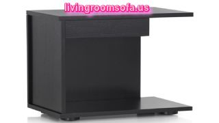 Black Bedside Tables Nightstands Design