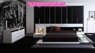 Black White Bedroom Furniture Design Ideas