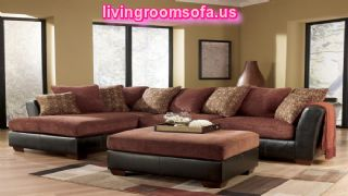 Black And Pink L Shaped Sectional Ashley Furniture