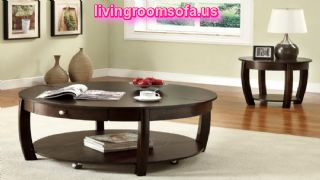 Brown Cherry Occasional Tables Designs