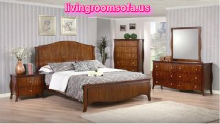 Brown Classic Bedroom Furniture Designs