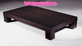 Brown Contemporary Coffee Tables