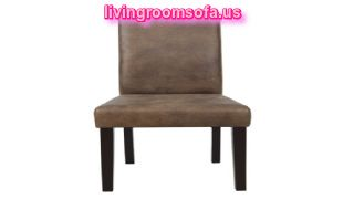 Brown Leather Chaises Design Ideas