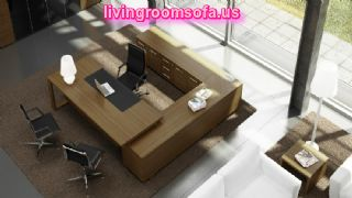 Brown Modern Contemporary Italian Office Furniture