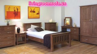 Brown Classic And Cheap Bedroom Furniture Design Ideas