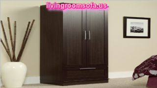Brown Modern And Cheap Style Wardrobe Armoires Designs