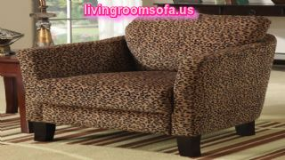 Brown Velvet Accent Arm Chair