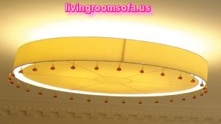 Circle Ceiling Lights For Living Room Modern
