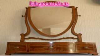 Classic Antique Vanity Mirror Furniture