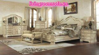 Classic White Bedroom Bed Set Queen