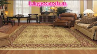 Classic Patterned Area Rugs For Living Room
