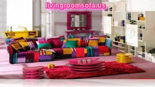 Colorful Contemporary Fabric Sofas For Livingroom