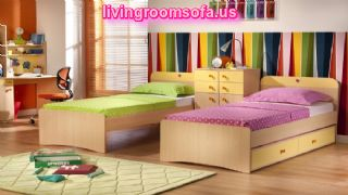 Cool Bunk Beds With Storage And For Kids Bedroom