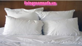 Cool Four Pillows On Bed