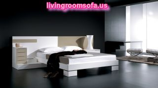 Cube White Modern Bedroom Design