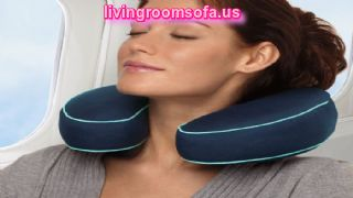 Dark Blue Pillows For Neck Pain