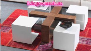 Decoration Ideas For Contemporary Coffee Tables