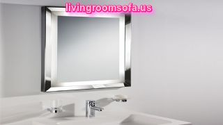 Decorative Modern Bathroom Wall Mirrors