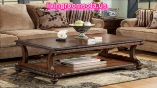 Decorative And Brown  Cherry Occasional Tables Designs