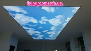 Decorative Syk Landscape Ceiling Lights For Living Room Design