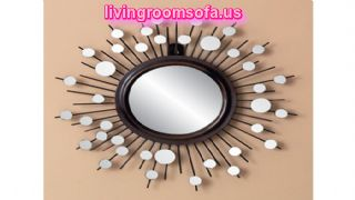 Decorative Wall Mirror Accent Piece
