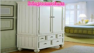 Decorative Wooden Bedroom Armoire Wardrobe Design
