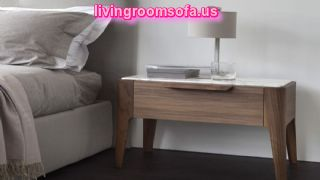 Excellent Bedside Tables Nightstands Wooden